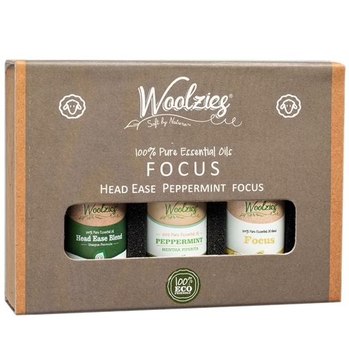 Picture of Woolzies Essential Oil Set, Brainstorm 3x10ml