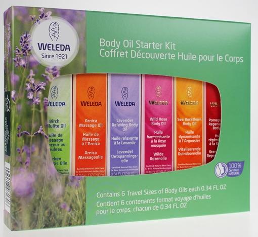 Picture of Weleda Weleda Body Oil Starter Kit