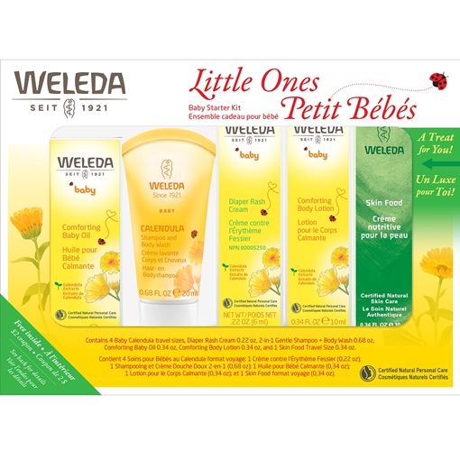 Picture of Weleda Weleda Baby Starter Kit, 5-Pack