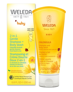 Picture of Weleda 2-in-1 Gentle Shampoo & Body Wash, 200ml
