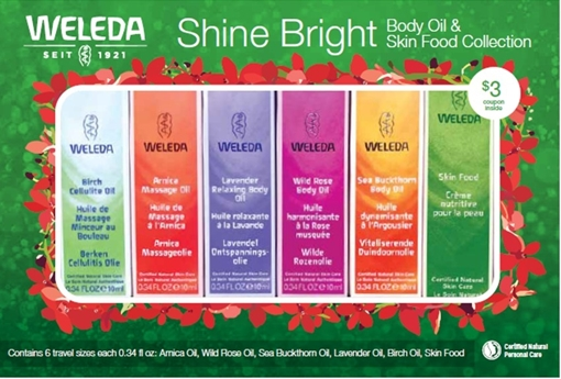 Picture of Weleda Weleda Body Oil and Skin Food Collection
