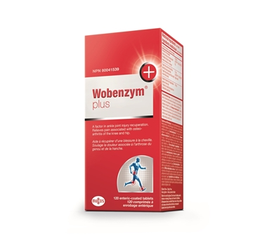 Picture of  Wobenzym Plus, 120 enteric-coated tablets
