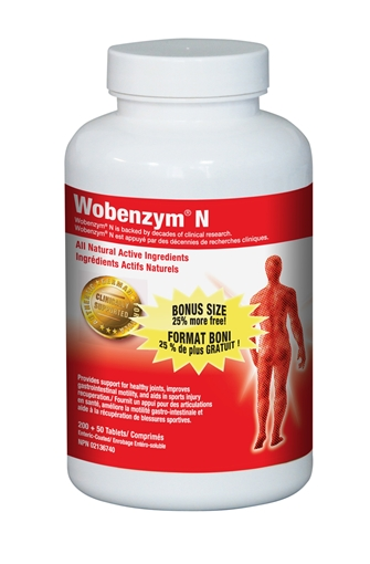 Picture of Wobenzym Wobenzym, 400 tablets