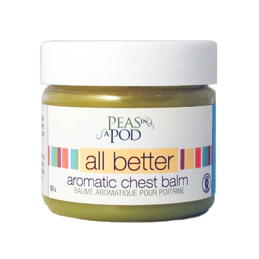 Picture of Peas In A Pod Peas in a Pod All Better Aromatic Chest Balm, 50g