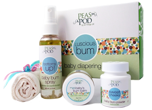 Picture of Peas In A Pod Luscious Bum Baby Diapering Kit