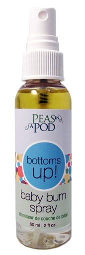 Picture of Peas In A Pod Peas in a Pod Bottoms Up! Baby Bum Spray, 60mL