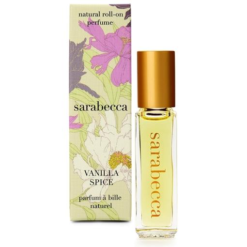 Picture of Sarabecca Sarabecca Natural Perfume Roll-On, Vanilla Spice 7.5ml