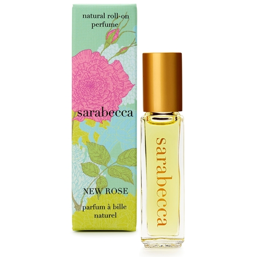 Picture of Sarabecca Sarabecca Natural Perfume Roll-On, New Rose 7.5ml