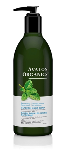 Picture of Avalon Organics Avalon Organics Hand Soap, Peppermint 355ml