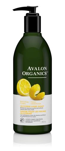 Picture of Avalon Organics Avalon Organics Hand Soap, Lemon 355ml
