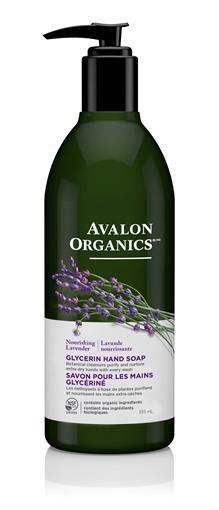 Picture of Avalon Organics Avalon Organics Hand Soap, Lavender 355ml