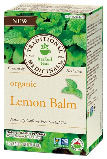 Picture of Traditional Medicinals Traditional Medicinals Organic Lemon Balm, 20 Bags