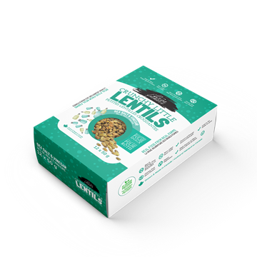 Picture of  Crunchy Little Lentils, Sea Salt & Vinegar 12x50g