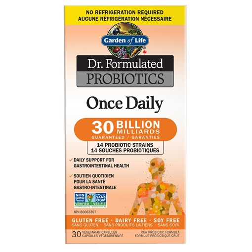 Picture of Garden of Life Garden of Life Probiotics Once Daily 30 Billion CFU Shelf Stable, 30 Count