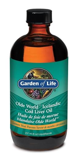 Picture of Garden of Life Garden of Life Olde World Icelandic Cod Liver Oil, 236mL
