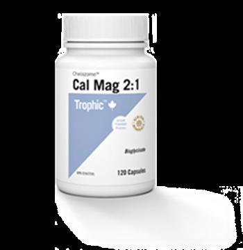 Picture of Trophic Calcium-Magnesium Chelazome 2:1,  120 Capsules