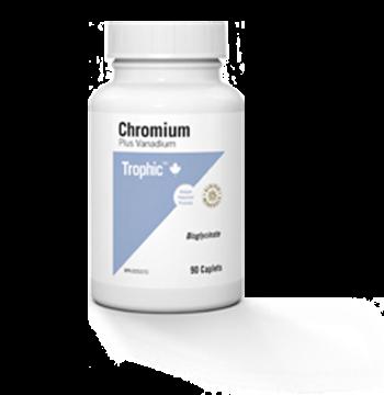 Picture of Trophic Chromium + Vanadium, 90 Capsules