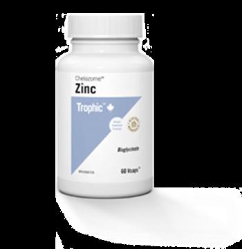 Picture of Trophic Zinc Chelazome, 60 Veg Caps
