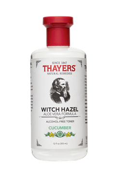 Picture of  Alcohol-Free Witch Hazel Toner, Cucumber 12 oz