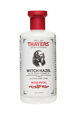 Picture of  Alcohol-Free Witch Hazel Toner, Rose Petal 12 oz