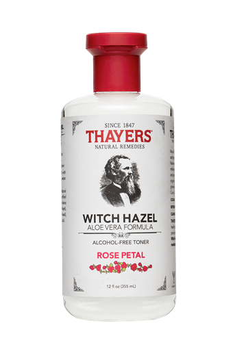 Picture of Thayers Company Alcohol-Free Witch Hazel Toner, Rose Petal 12 oz