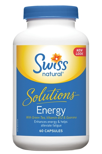 Picture of Swiss Natural Swiss Natural Solutions® Energy, 60 Capsules