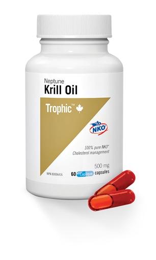 Picture of Trophic Krill Oil - Neptune, 60 caps