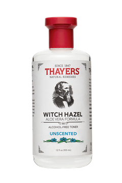 Picture of Thayers Company Alcohol-Free Witch Hazel Toner, Unscented 12 oz