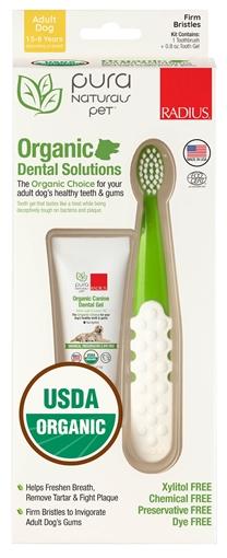 Picture of Radius Corporation Radius Organic Canine Dental Kit, Adult