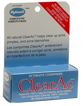 Picture of  Hyland's ClearAc (clears up acne)