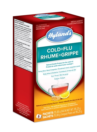 Picture of Hyland's Hylands Cold+Flu, 6packets