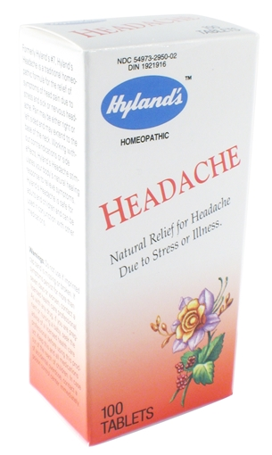 Picture of Hyland's Hyland's Headache, 100 Tablets