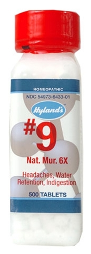 Picture of Hyland's Hyland's Natrum Muriaticum 6x Cell Salts, 500tabs