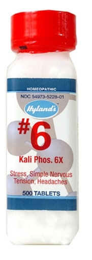 Picture of Hyland's Hyland's Kali Phosphoricum 6x Cell Salts, 500 Tablets