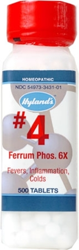 Picture of Hyland's Hyland's #4-Ferrum Phosphoricum, 1000tabs