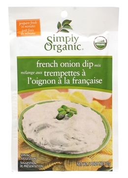 Picture of  Simply Organic French Onion Dip Mix, 31g
