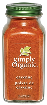 Picture of  Simply Organic Cayenne Pepper, 71g