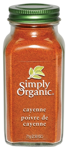 Picture of Simply Organic Simply Organic Cayenne Pepper, 71g