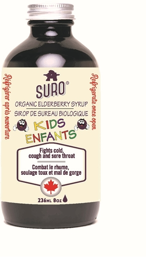 Picture of SURO Elderberry Syrup for Kids