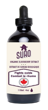 Picture of  Organic Elderberry Syrup, 118 ml
