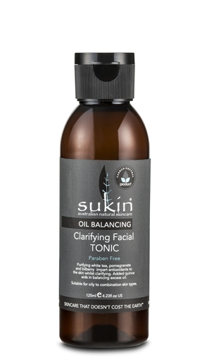 Picture of Sukin Oil Balancing Clarifying Facial Toner, 125ml