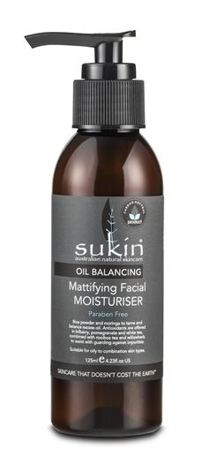 Picture of Sukin Oil Balancing Mattifying Facial Moisturizer, 125ml