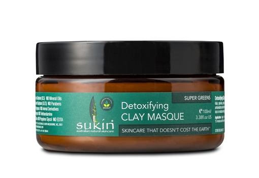 Picture of Sukin Super Greens Detoxifying Clay Masque, 100ml