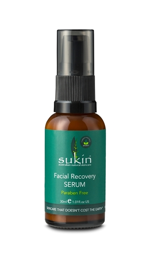 Picture of Sukin Super Greens Facial Recovery Serum, 30ml