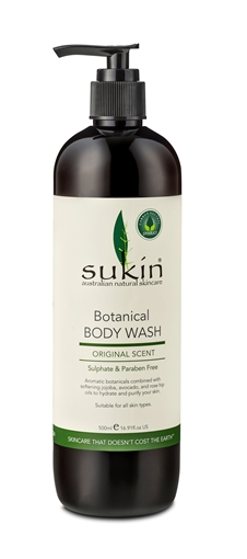 Picture of Sukin Sukin Botanical Body Wash, 500ml