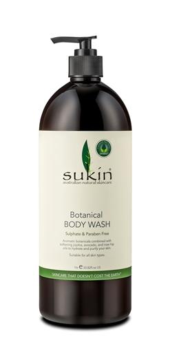 Picture of Sukin Sukin Botanical Body Wash, 1L