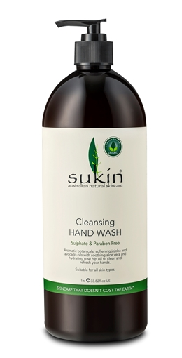 Picture of Sukin Sukin Cleansing Hand Wash Pump, 1L