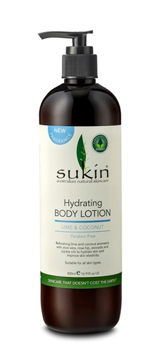 Picture of Sukin Sukin Hydrating Body Lotion, Lime & Coconut 500ml
