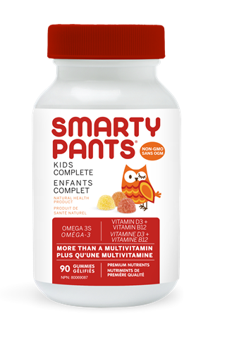 Picture of SmartyPants SmartyPants Kids Complete, 90 Gummies