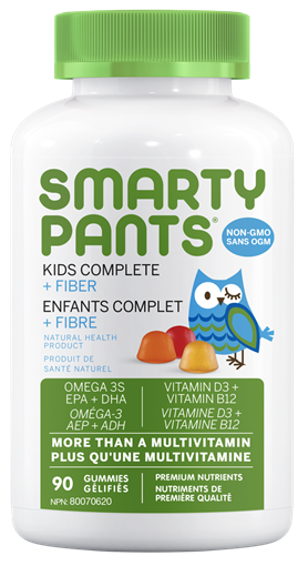 Picture of SmartyPants SmartyPants Kids Complete +Fiber, 90 Gummies